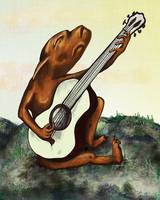 Dog Plays the Guitar