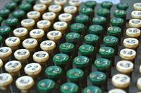 Comptometer Buttons