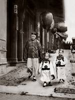 """Children of High Class, Chinatown, San Francisco"""
