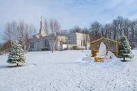 Palmyra Temple Christmas I