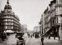 Market and 5th, Baldwin Hotel c1890 by WorldWide Archive