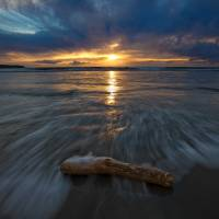 Dillon Beach Sunset After Storm 101 Art Prints & Posters by Josh Sommers