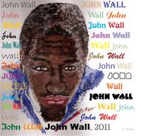 John Wall Illustration Basketball