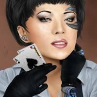 Blackjack Art Prints & Posters by Barbora Stratilova