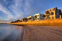 Charleston East Battery Row Sunrise