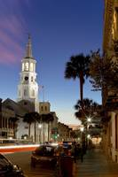 St Michaels Church Charleston SC Street Scene