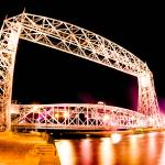 """Duluth Liftbridge"" by evanTAYLORstudios"