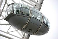 Ovoidal passenger capsule, London Eye.