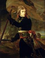 Napoleon I (1769-1821) on the Bridge of Arcole