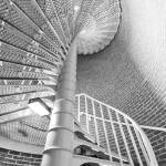 """Cape May Lighthouse Spiral Stairs"" by DustinKRyan"