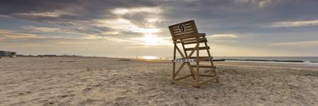 Wildwood Crest Lifeguard Chair Sunrise Jersey Sho