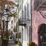 """Rainbow Row Charleston SC 3"" by DustinKRyan"