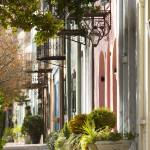 """Historic Rainbow Row Charleston SC"" by DustinKRyan"