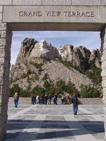 Framing Mt. Rushmore
