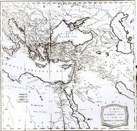 Map of the Eastern Part of the Roman Empire