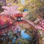 """Bridge to the Japanese Teahouse"" by StudioSinaloa"