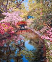 Bridge to the Japanese Teahouse