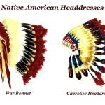 """Native American Headdresses"" by vigliotti"