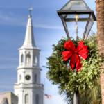 """Holiday Wreath St Michaels Church Charleston SC"" by DustinKRyan"