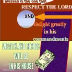"""""""Wealth"""" by memoryverseposter"""