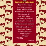 """""""Our Father"""" by memoryverseposter"""