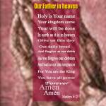 """""""Our Father2"""" by memoryverseposter"""