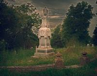 Old cemetery in Hannibal, Mo.