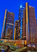 RenCen by night