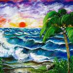 """Tropical Sunset"" by galina"