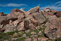 Rocks on top of Mt. Evans