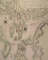 Military plan of the North Part of Rhode Island, 1