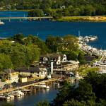 """Saugatuck Michigan Aerial View_MG_9827"" by CEMiller"