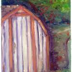 """Impressionism Study - The Shed."" by adenton"