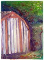 Impressionism Study - The Shed.