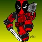 """""""Deadpool - The Merc with a Mouth"""" by EdMedArt"""