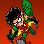 """""""Robin the Boy Wonder"""" by EdMedArt"""