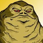 """""""Jabba: Scum and Villany"""" by EdMedArt"""