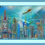 """The City Below"" by pieraveinsomniac"