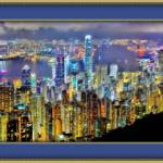 """Hong Kong Lights"" by pieraveinsomniac"