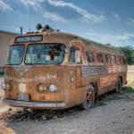 """Lone Star Bus at Broken Spoke"" by eyeates"
