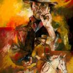 """Clint Eastwood"" by creativesportsart"