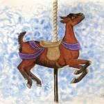 """Oberhasli Carousel Goat"" by tnpcraft"