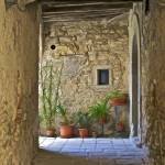 """Secluded Courtyard of Tuscany"" by Oldworldphoto"