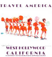 Travel America West Hollywood California