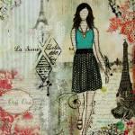 """Belle Ville Belle dame artwork by Janelle Nichol"" by JanelleNichol"