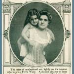 """Vintage 1901 Corset Advertisment"" by WilshireImages"