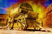 Old Western Water Wagon