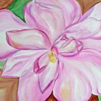 Pink Camellia Art Prints & Posters by Lori Skoumal Reeves
