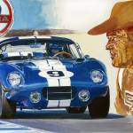"""COBRA DAYTONA CARROLL SHELBY"" by DavidLloydGlover"