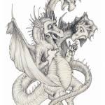 """""""Puppet Dragon"""" by tkylegentry"""
